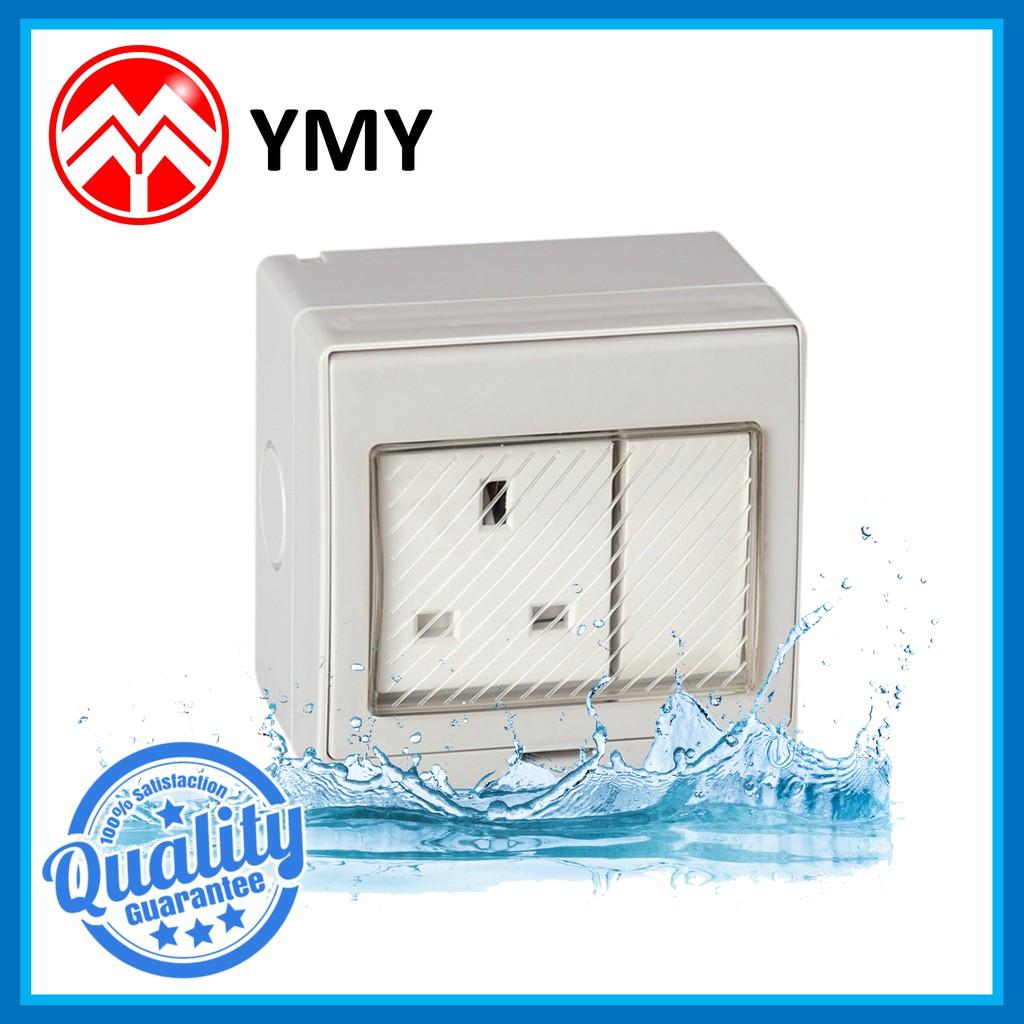 Waterproof 13a Outdoor Electrical Switch Socket Power
