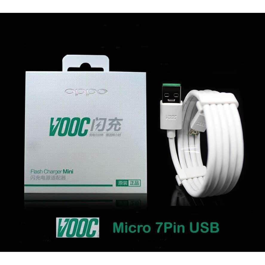 100% ORIGINAL VOOC Fast Charging Cable Oppo F1 R7 R7s R9+ N3