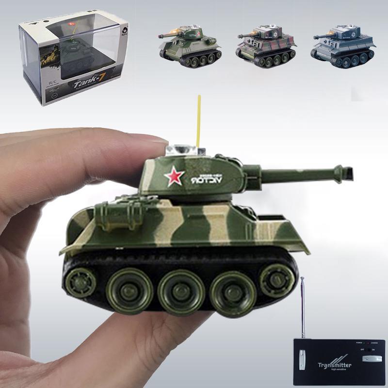 Mini Remote Control Tank Wireless RC Tank Model Children Electronic