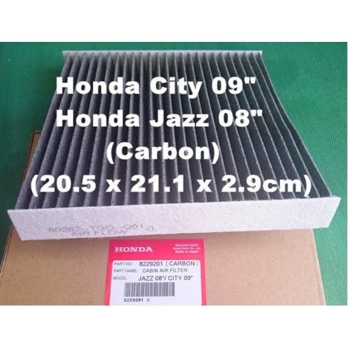 HONDA CABIN AIR FILTER FOR HONDA FIT 2009-2016