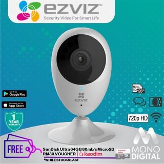 EZVIZ C6CN 720P HD Wifi IP Security Camera CCTV (CS-CV246-B0-1C1WFR)