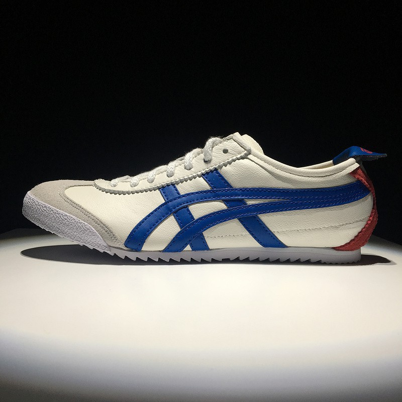 80099744 Asics Onitsuka Tiger Mexico 66 Deluxe Womens and Mens Campus Sport Shoes