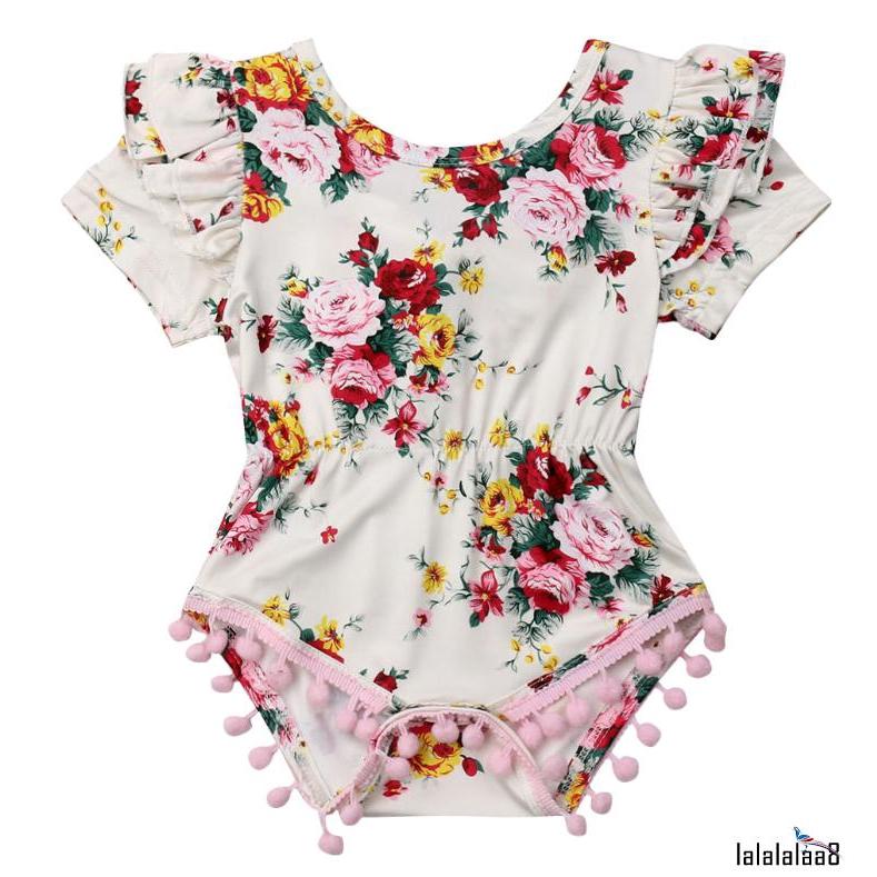 Baby Girls Newborn Clothes Romper Bodysuit Jumpsuit Sunsuit Summer Outfits Set