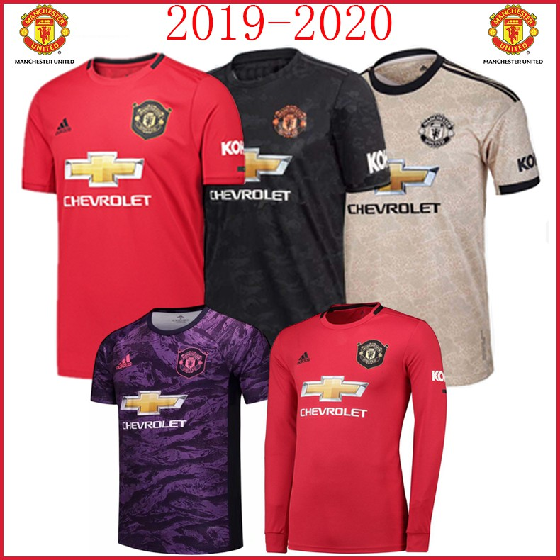 on sale 3e691 56b58 2019/2020 Newest Man Utd Mu Football Jersey Soccer jersi