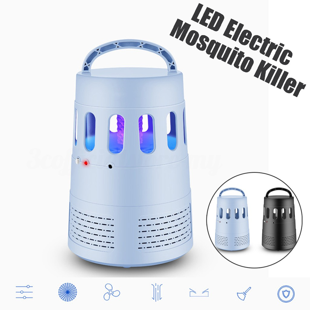 220v 1w Led Light Electronic Indoor Mosquito Insect Killer Bug Fly Bugzapper1 Circuit Schematic Diagram Zapper Shopee Malaysia