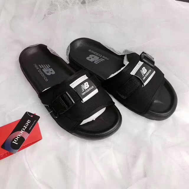 5eface5e4ad 2017 Korea New Arrival New Balance Sandal slipper black