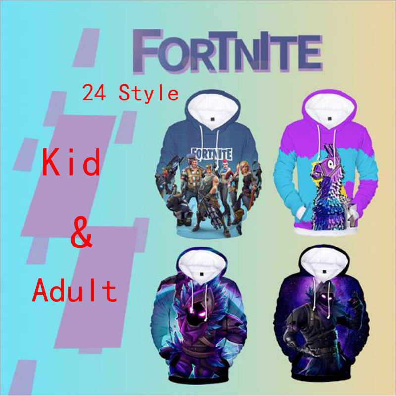 3d Fortnite Game Print Hoodie Cosplay Men Women S Pullover