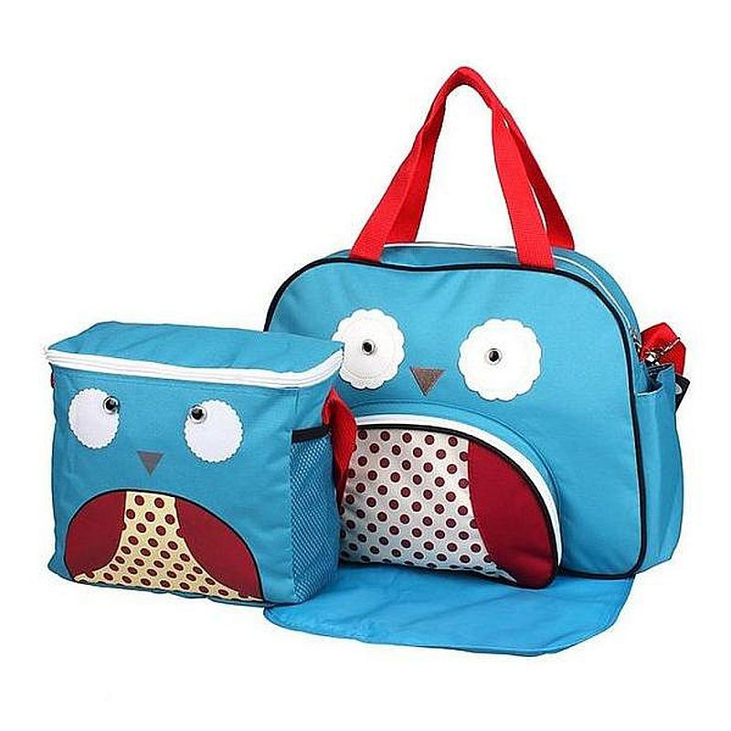 Mylilangelz KA0171 Becute Fun Animal Diaper Bag (Owl) (READY STOCK)