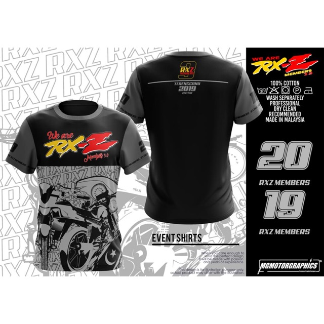 7c5296135 {PRE-ORDER} T-shirt RXZ Members V3.0 2019