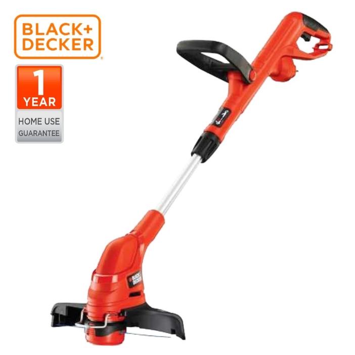 BLACK & DECKER GL5530-B1 OUTDOOR 550W STRING GRASS TRIMMER KAWASAN LUAR PEMOTONG RUMPUT  SAFETY EASY SAVE TIME