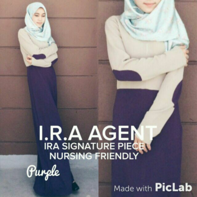 Ira signature piece nursing friendly dress  7a13a6c1af