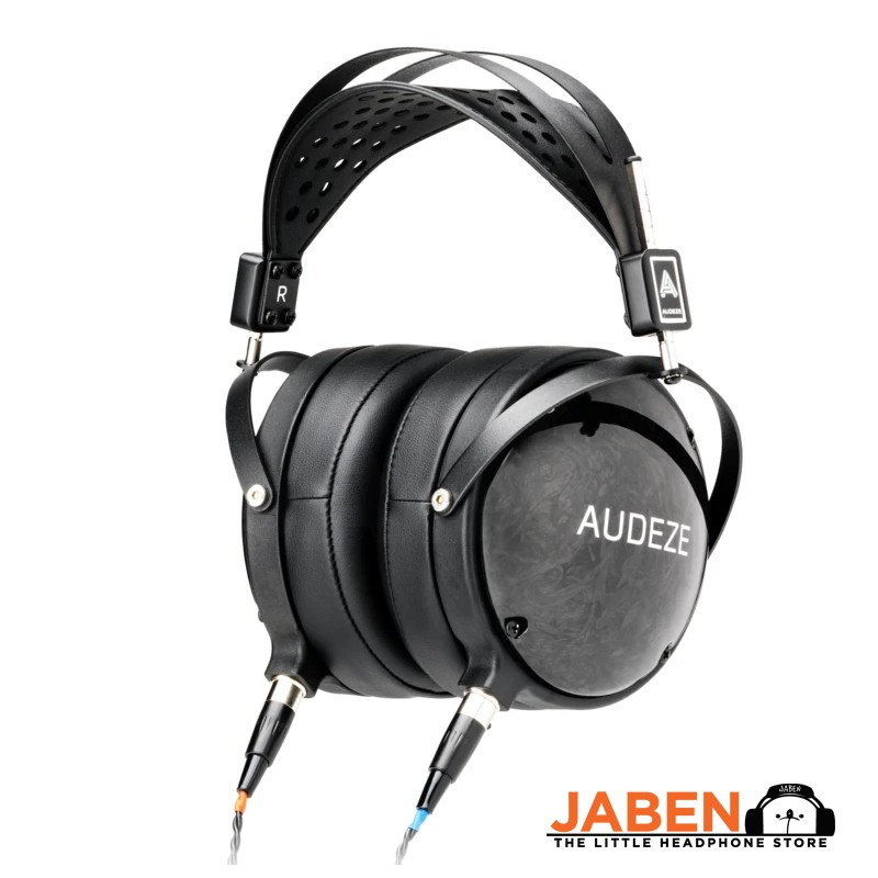 Audeze LCD-2 Closed Black Planar Magnetic Hi-Res Made in USA Detachable Cable Over-Ear Headphones [Jaben]