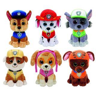 "TY PAW PATROL BEANIE BOO COLLECTION-ROCKY-Soft Plush Toy 6/"" 15 cm"