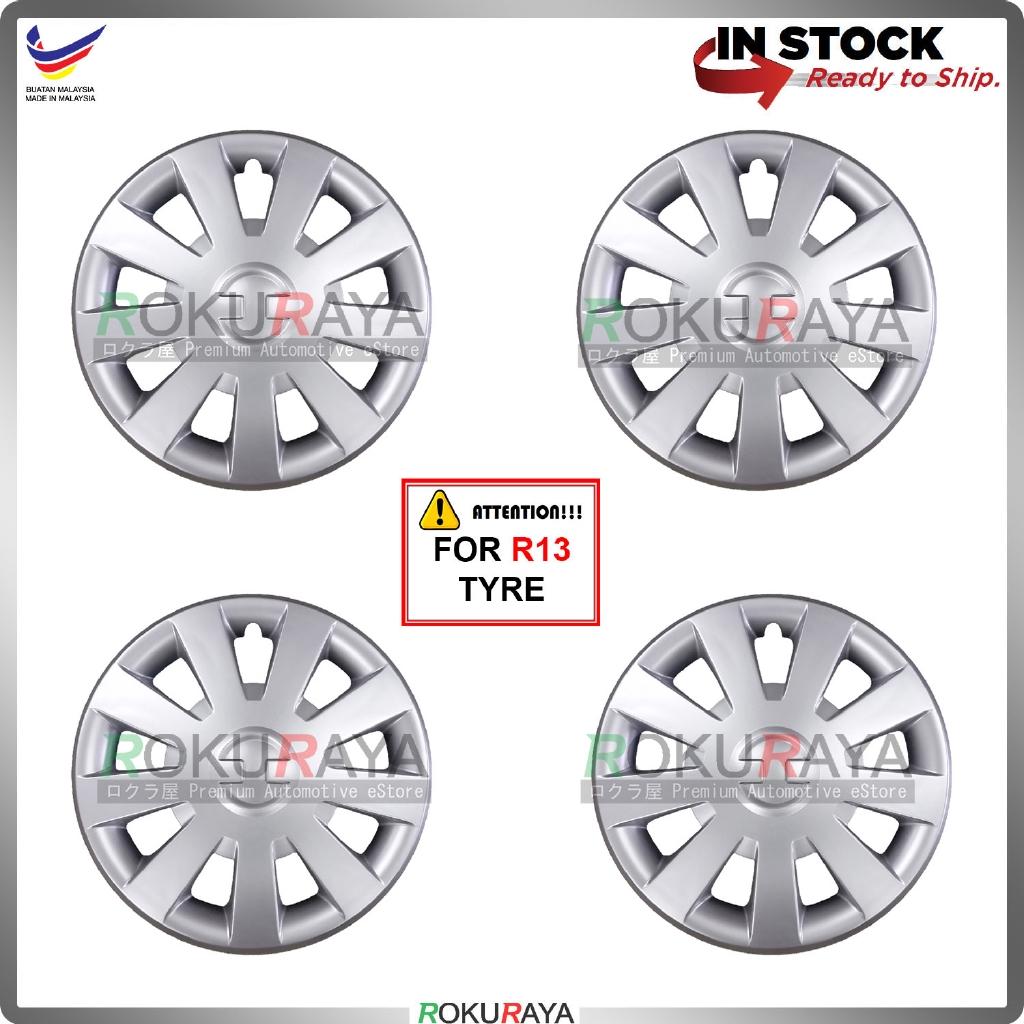 Universal R13'' Inch Car Wheel Cover Tyre Center Hub Cap Steel Rim (GT Design)