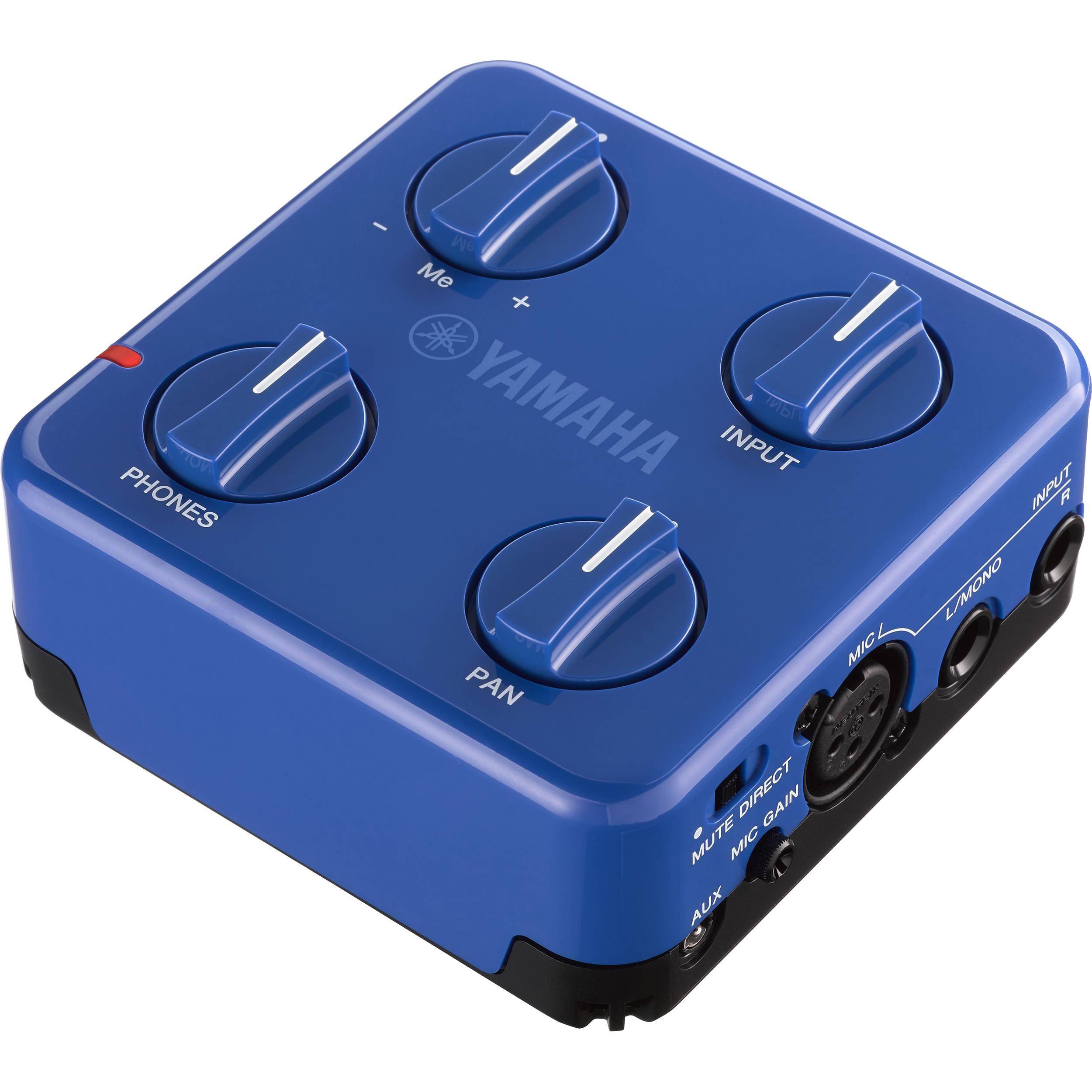 Yamaha SC-02 Session Cake Portable Mixer for Guitar Blue (SC02 SC 02)
