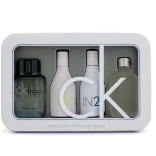 ensiluokkainen erikoismyynti paras asenne Calvin Klein CK 4 Pieces Miniature Perfume Collection Set for Men & Women