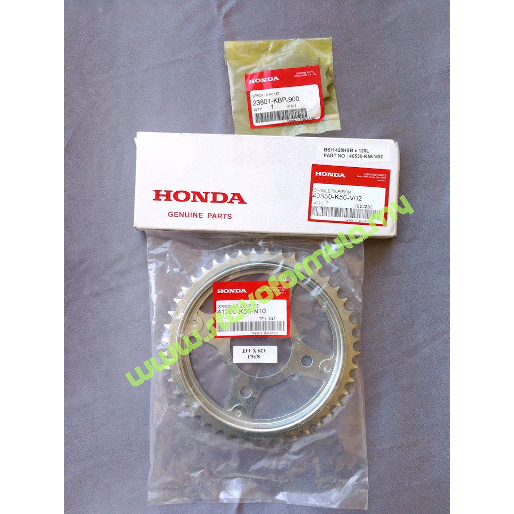 Honda Rs150r Setting