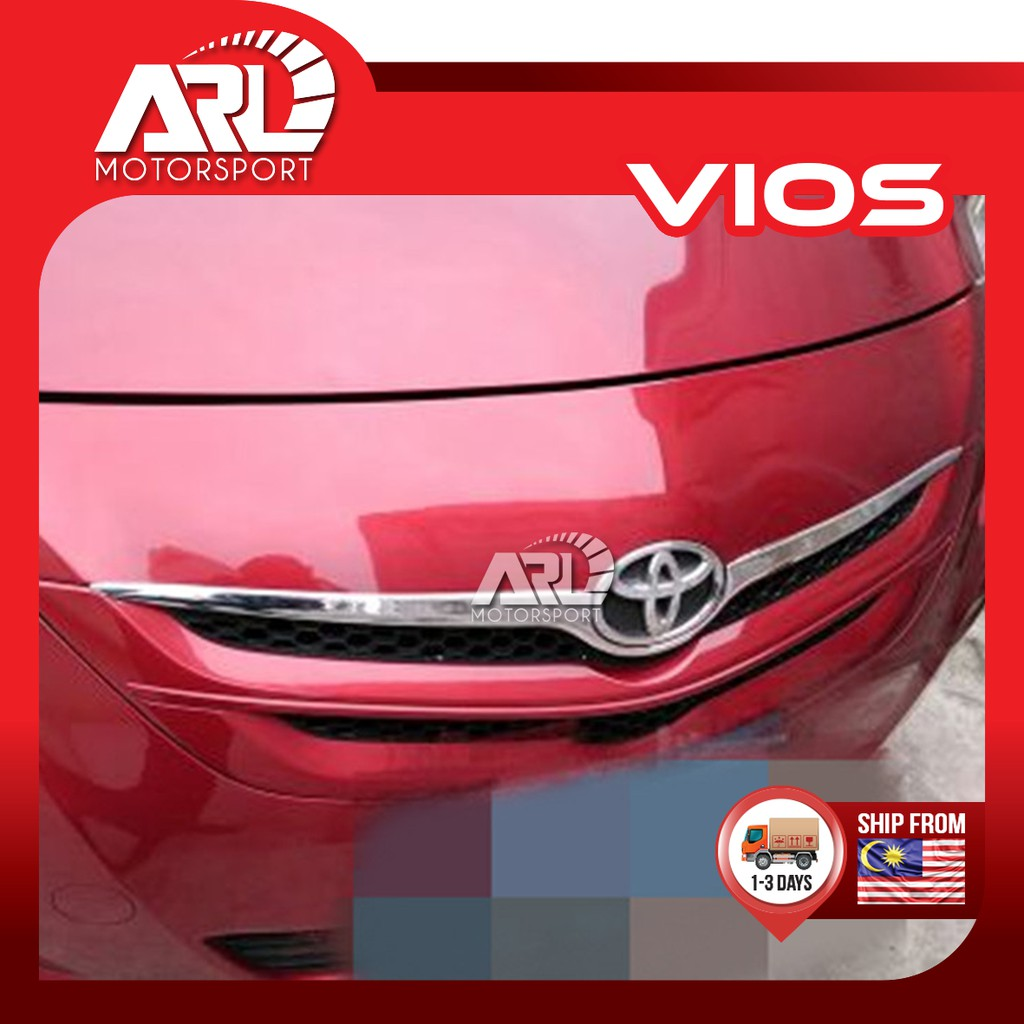 Toyota Vios (2007-2012) NCP93 Front Grill Lining Chrome Car Auto Acccessories ARL Motorsport