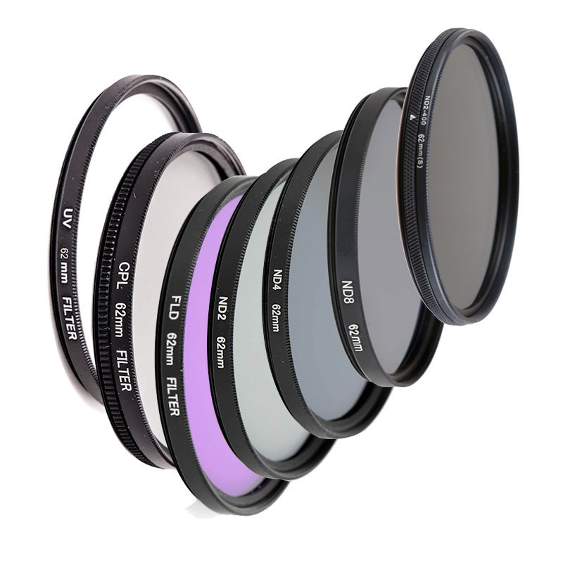49MM 52MM 55MM 58MM 62MM 67MM 72MM 77MM UV+CPL+FLD 3 in 1 Lens Filter Set with Bag for Sony Cannon for Nikon Pentax Camera Lens 55mm ND UV CPL Filter