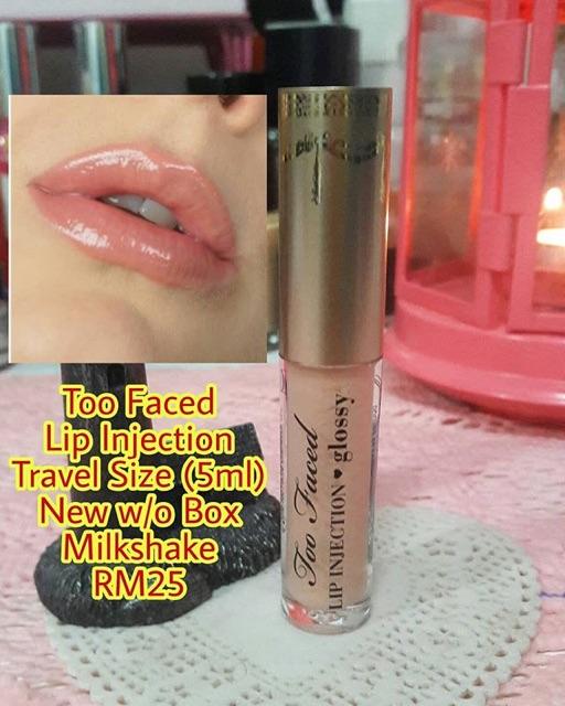 Too Faced Lip Injection Gloss | Shopee Malaysia