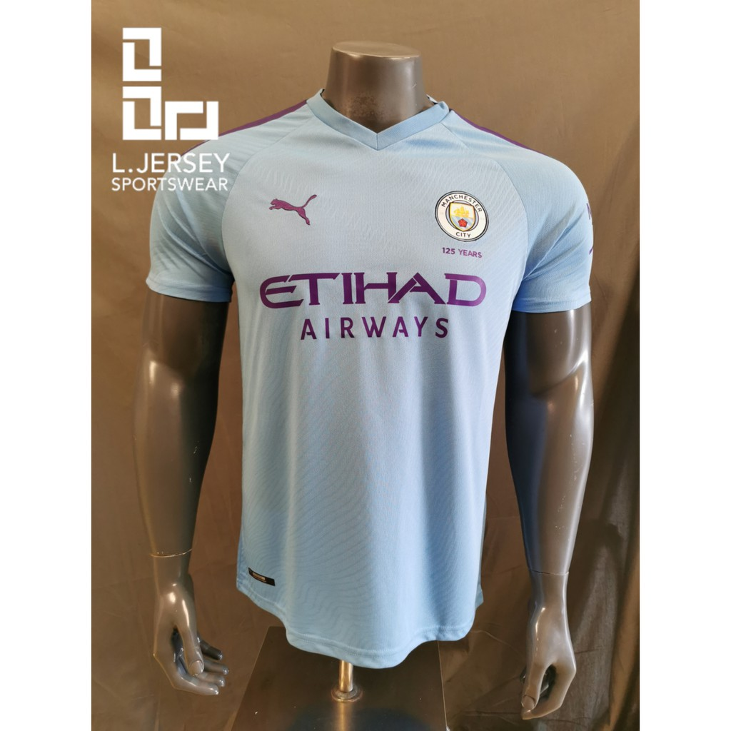 Manchester City Men Home Season 19/20 Fans Jersey