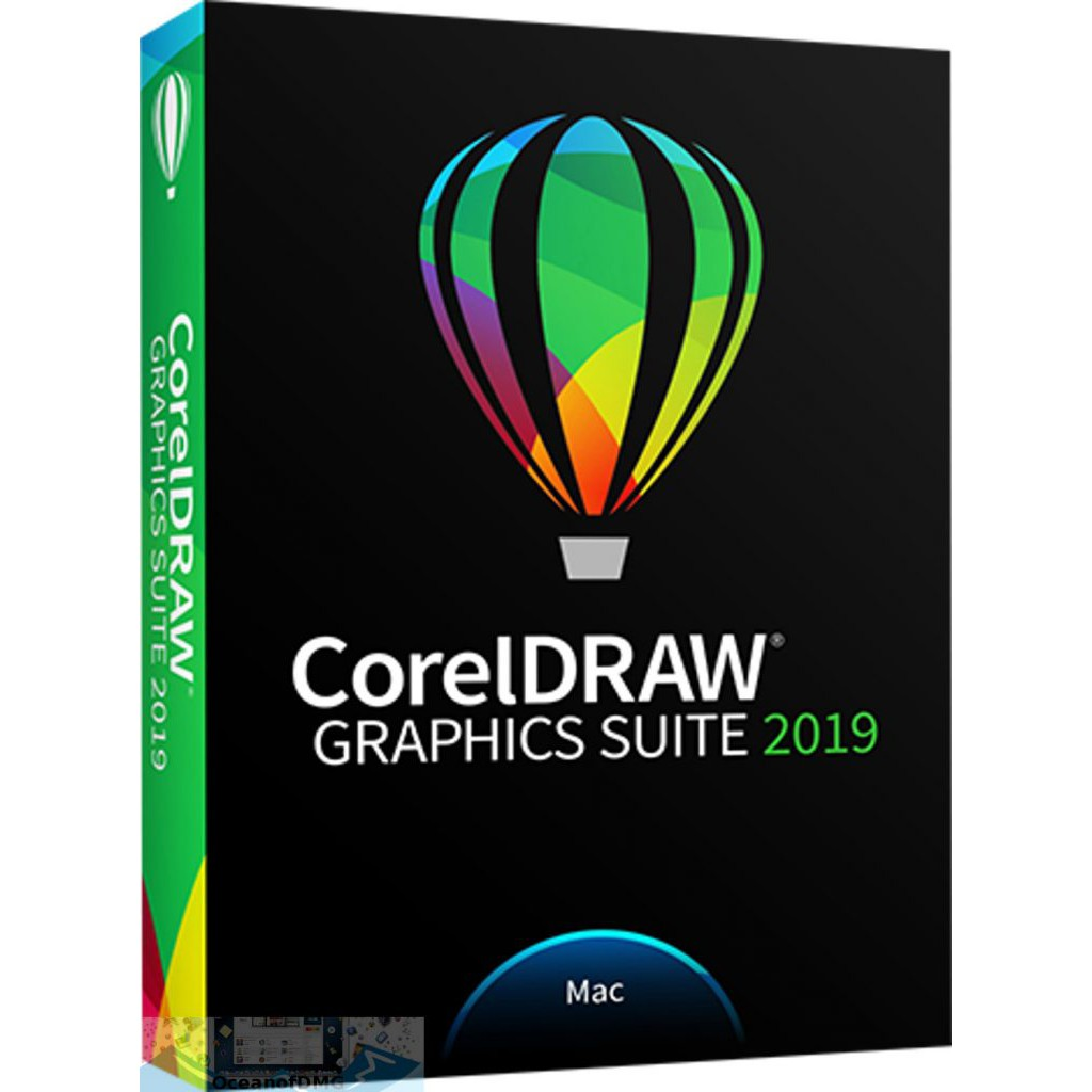 CorelDRAW Graphics Suite 2019 for Mac OS X