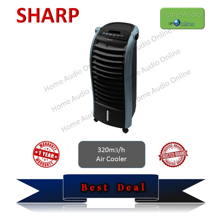 Sharp Air Cooler PJA36TVB - 6L (Black)