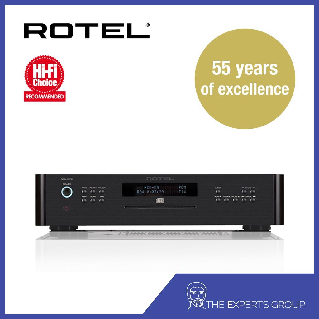 Rotel RCD-1570 Black (Demo Unit)
