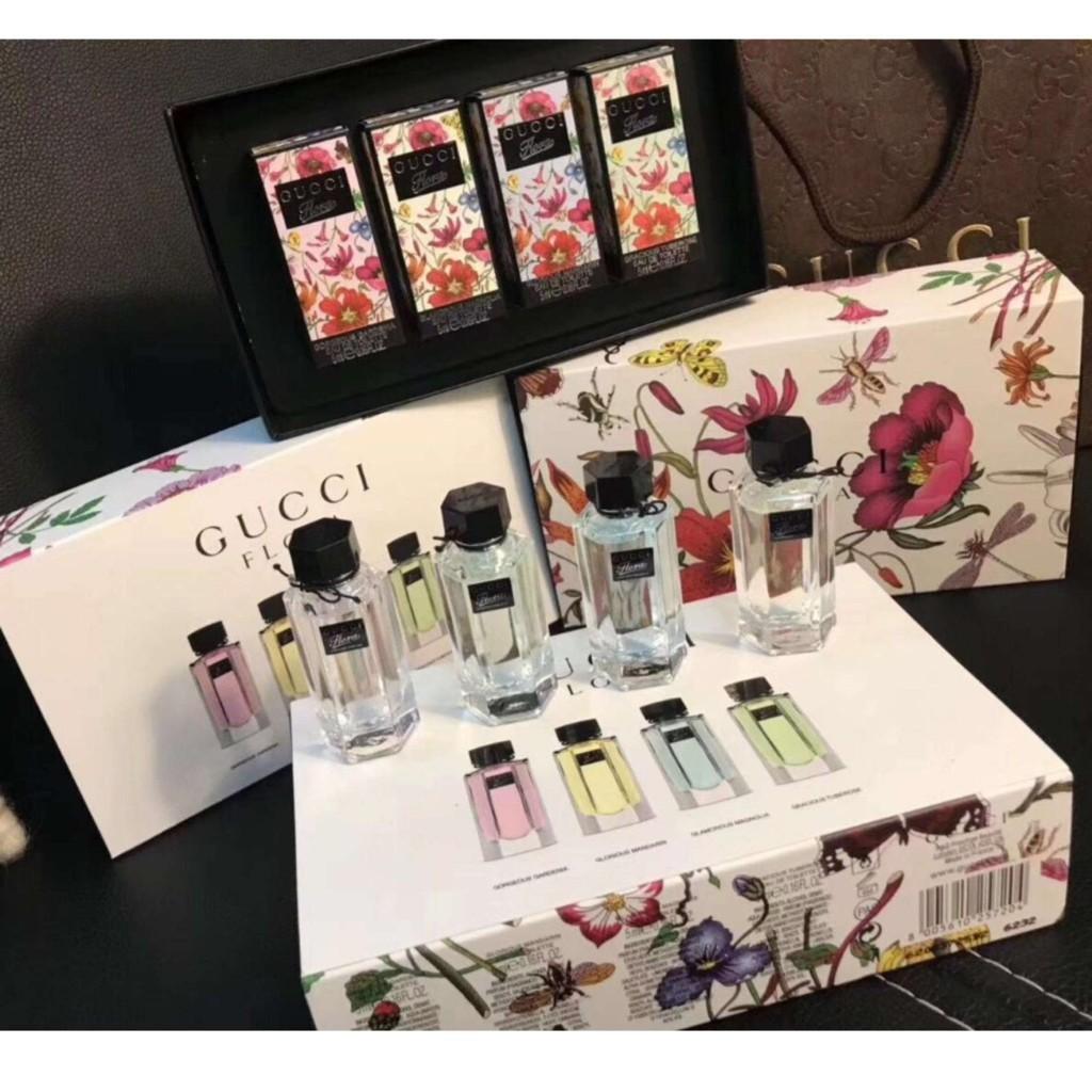 Gucci Flora 4 in 1 Set for Women Eau de Toilette with 5ml