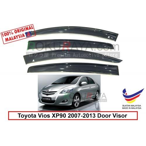 Toyota Vios Dugong NCP93 (2nd Gen) 2007-2013 Door Visor (Big 12cm Width)
