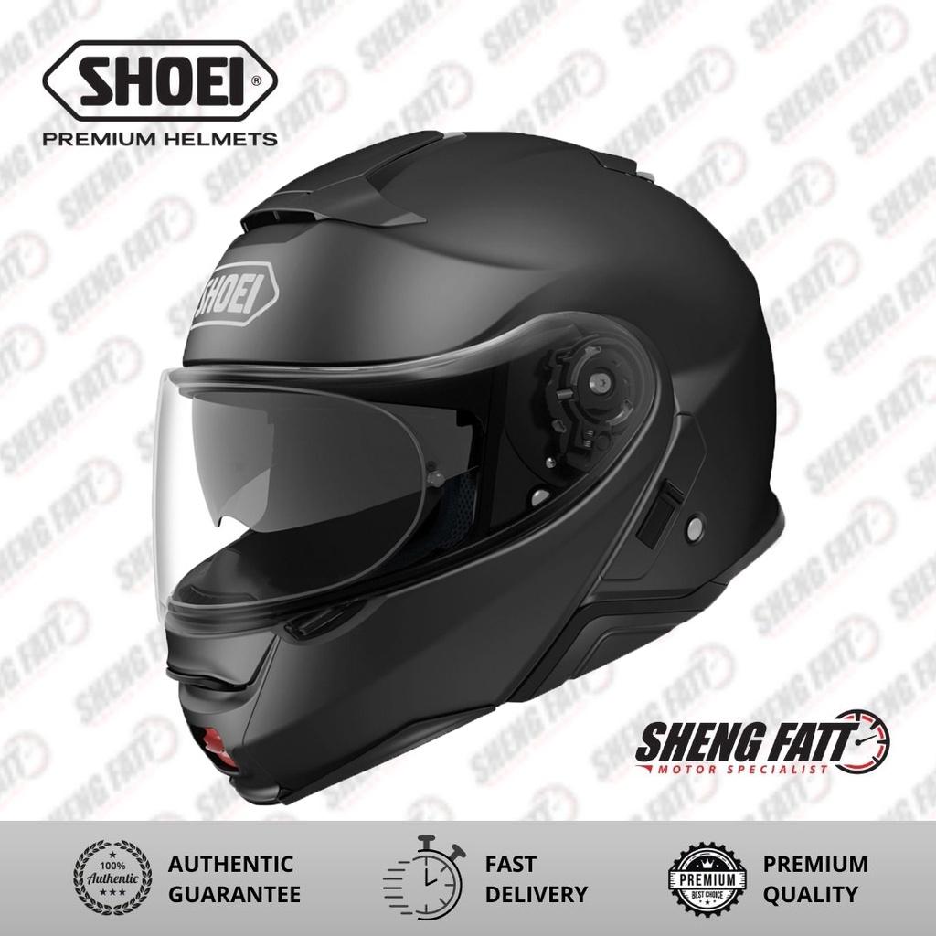 SHOEI Neotec 2 Metallic Matt Black Full Face Helmet S Size
