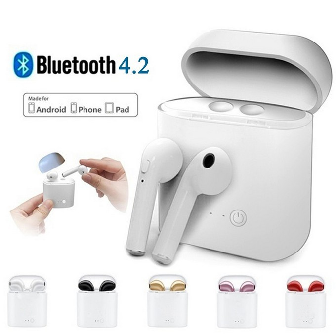 Twins Wireless Earbuds Mini Bluetooth V4.2 Stereo Earphone