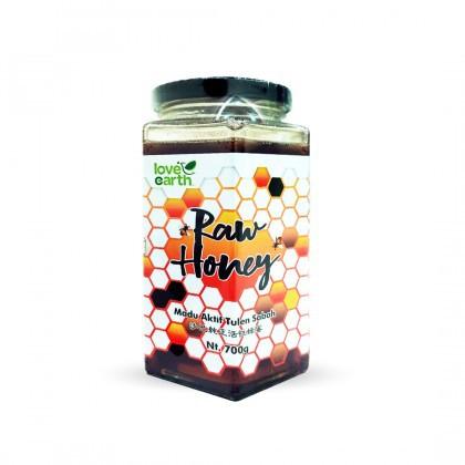 Love Earth Raw Honey 700g 乐儿天然沙巴原蜜 700公克  (罐装)