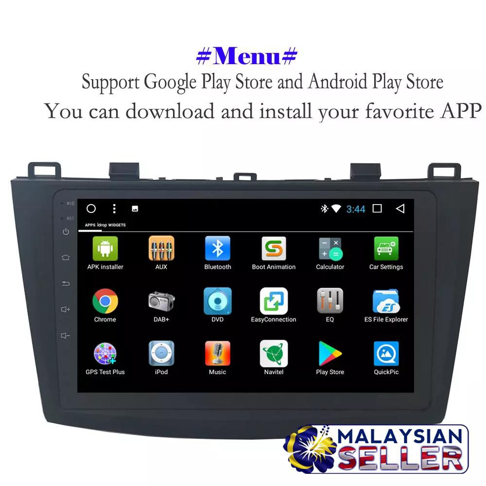 ELT MAZDA 3 HD Touch screen Car Monitor Android OS Video Player with