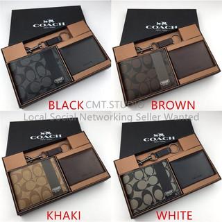 96a97a89 COACH F74102 Men's Wallets Short wallet Folded wallet Card Wallet(Gift box)