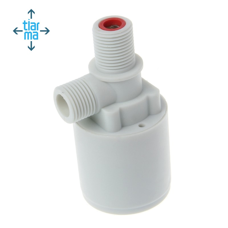 1//4 Small Water Level Control Tank Automatic Fill Plastic Floating Ball Valve