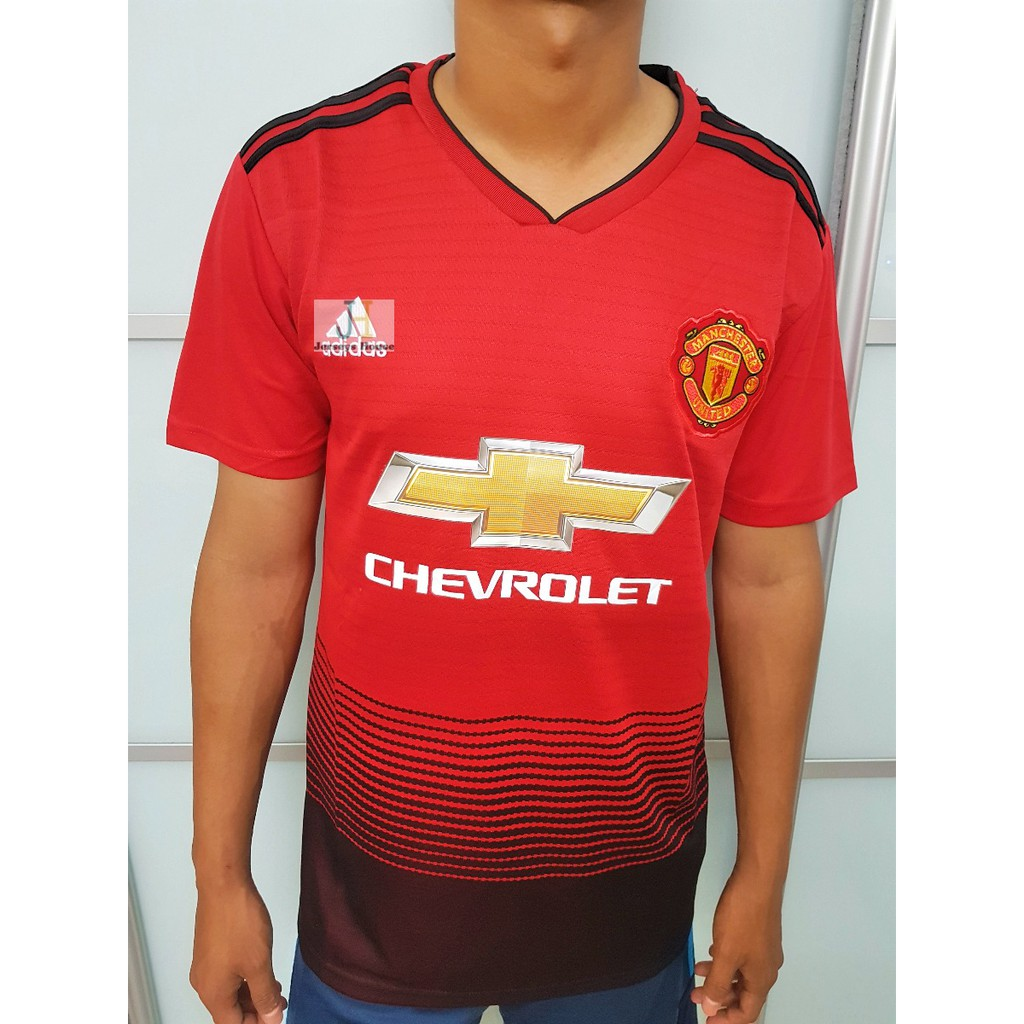 promo code bbdbf 7860b Manchester United Home Kit 2018/2019( Fan Issue)