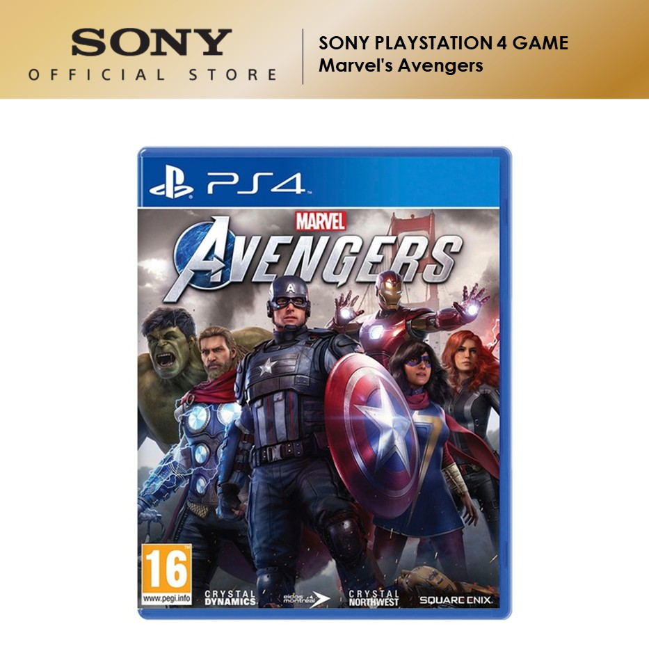 Sony PlayStation 4 Game Marvel's Avengers