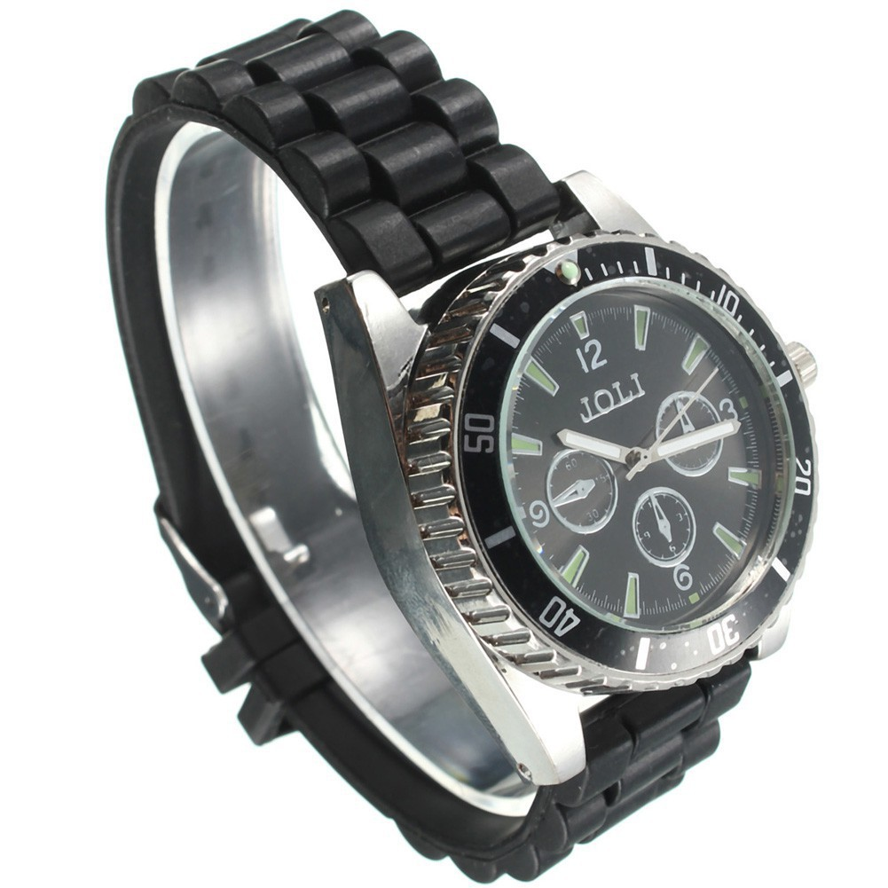 Men's Metal Alloy Wrist Watch Cigarette Grinder