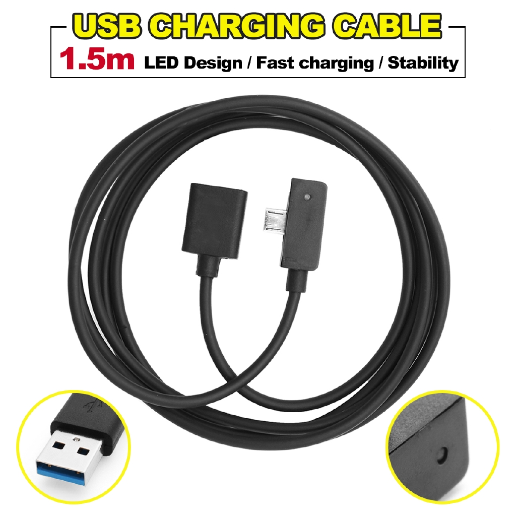 Micro USB 2.5A  fast charging Cable with indicator For Microsoft surface 3