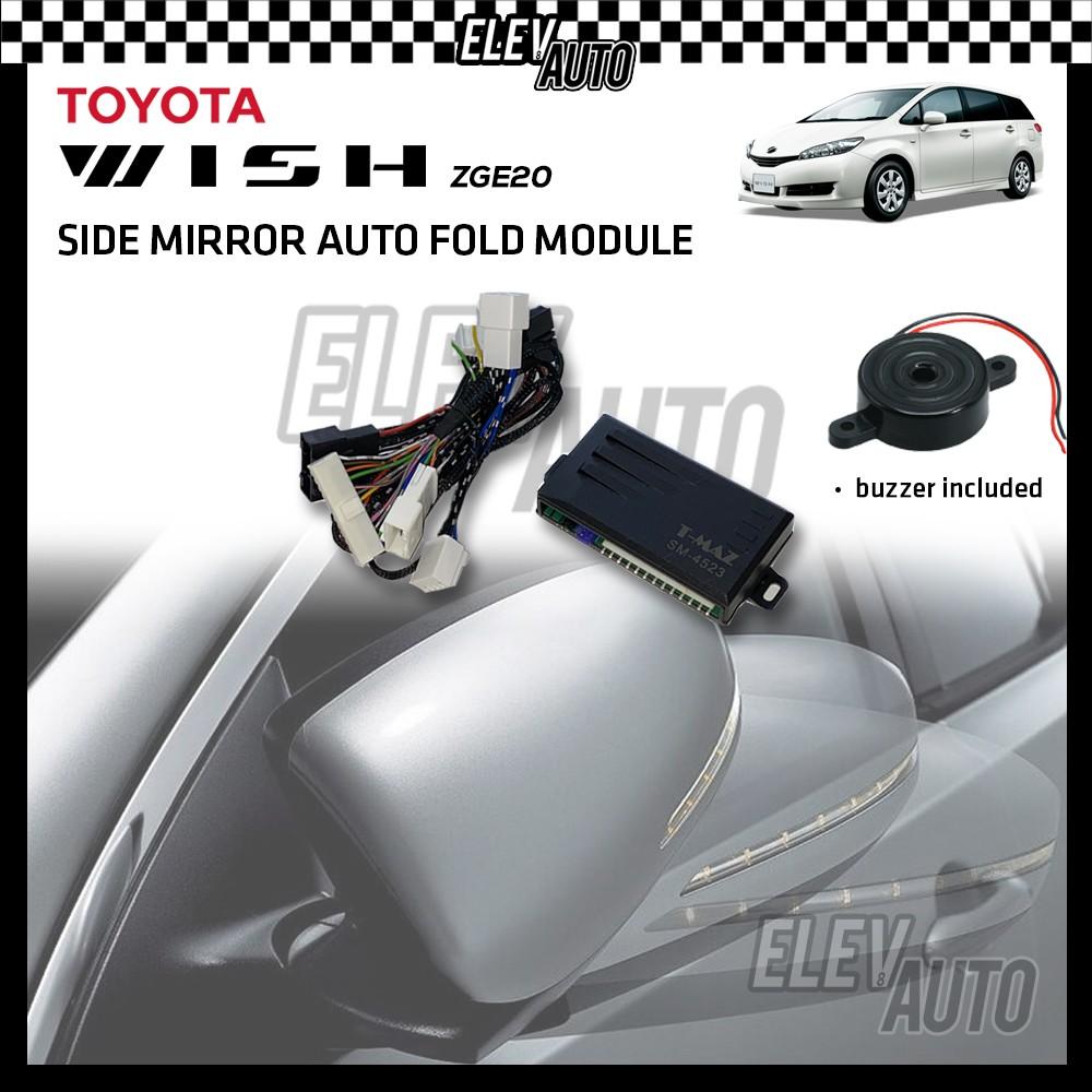 Side Mirror Auto Fold Module Toyota Wish 2009-2017