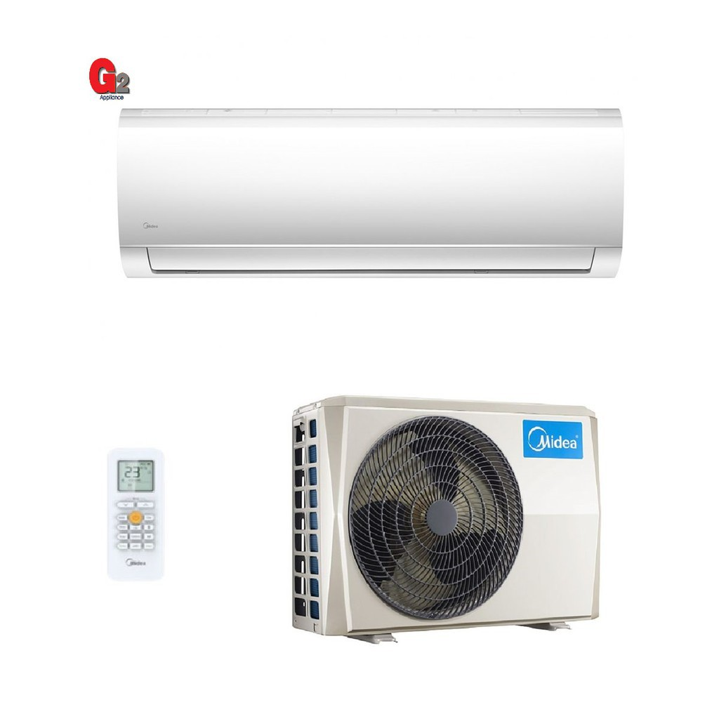 Midea 1.0hp Wall Mounted Split Air Conditioner MSMA-09CRDN1