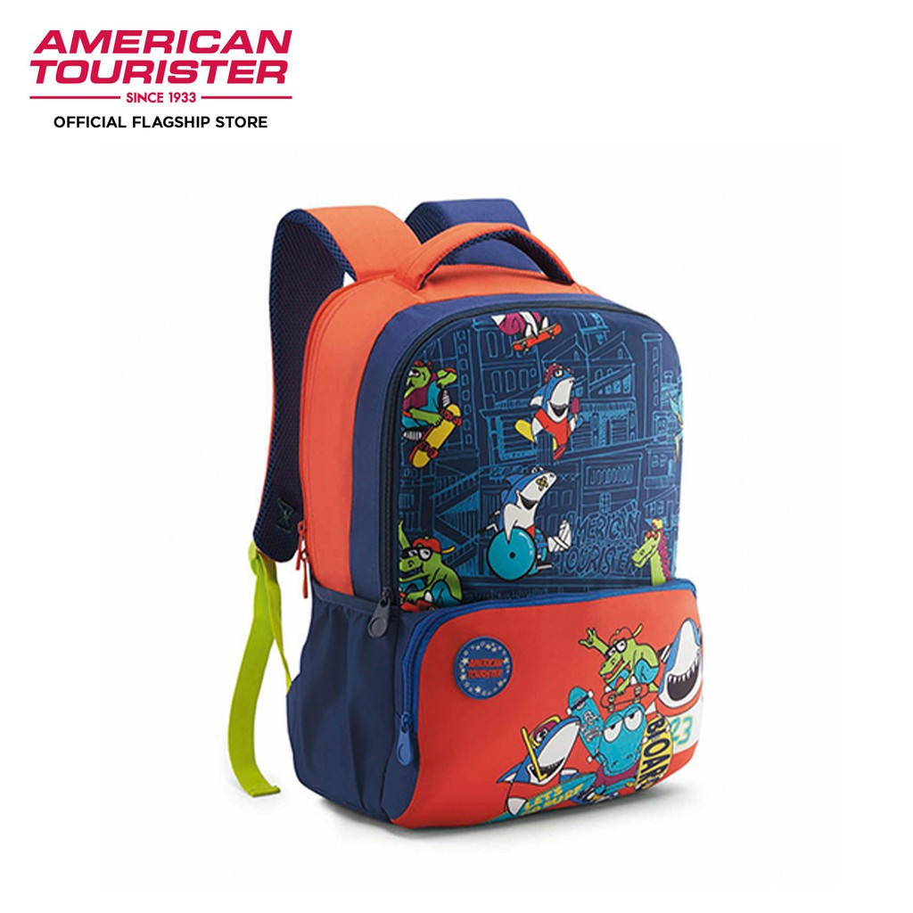 American Tourister DIDDLE-BACKPACK 02-BLUE/ORANGE