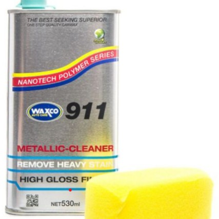 🔥READY STOCK🔥WAXCO 911 METALIC CLEANER 530ML