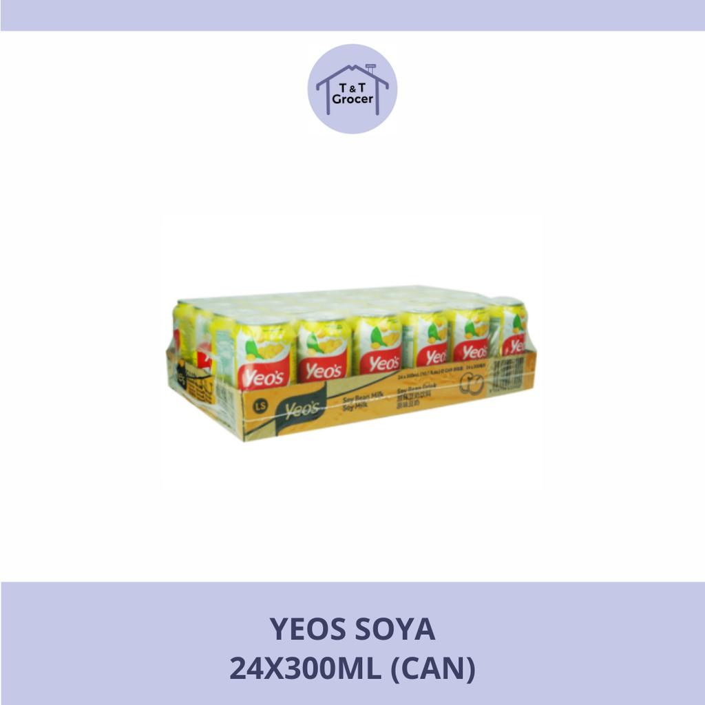 Yeo's Can Drink 24x300ml (Soya/ Tebu)