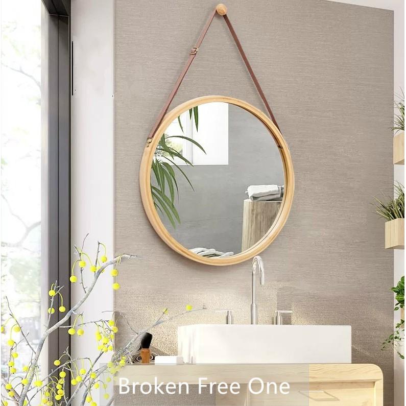 Sale Nordic Bathroom Mirro Round Mirror Dressing Mirror Shopee Malaysia