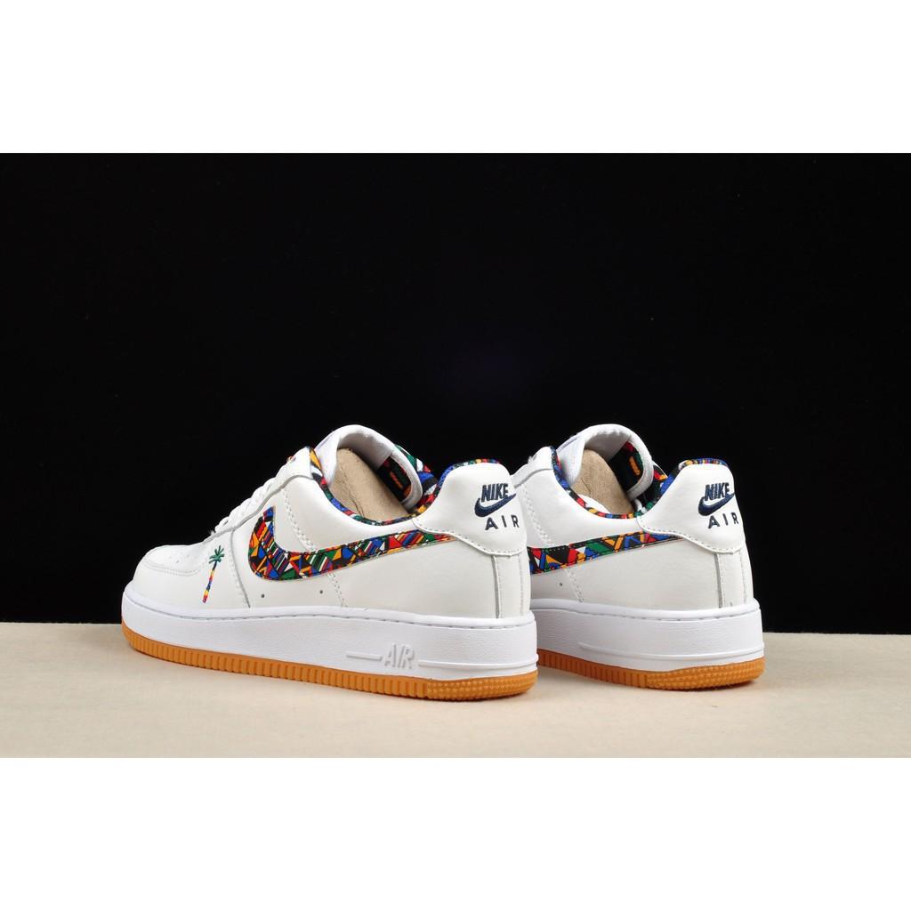 cod nike air force 1 af1 all white dumr skateboard shoe for