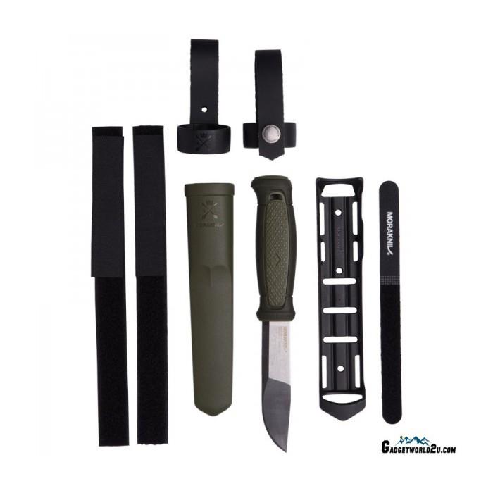 Kansbol Multi-Mount Green (S) Outdoor Bushcraft Knife 12645