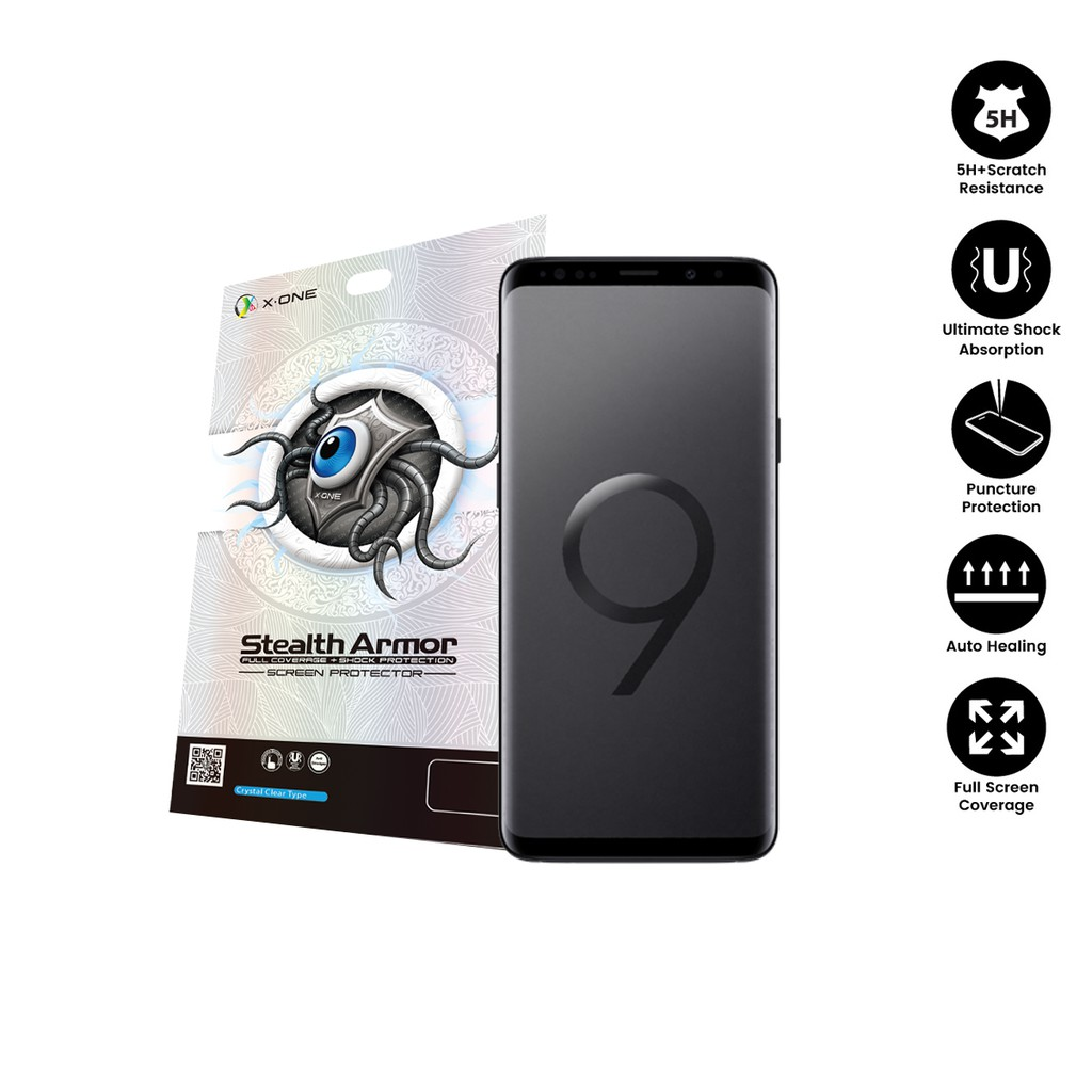 Samsung S9 Plus ( G965 ) X-One Stealth Armor Screen Protector