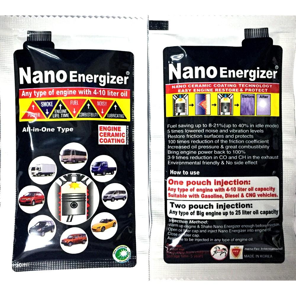 Nano Energizer - Engine Ceramic Coating Anti Friction Oil For Car and  Motobike